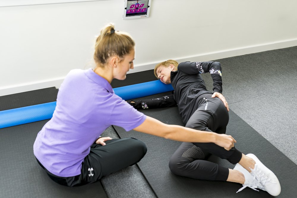 personal training exercises for back pain