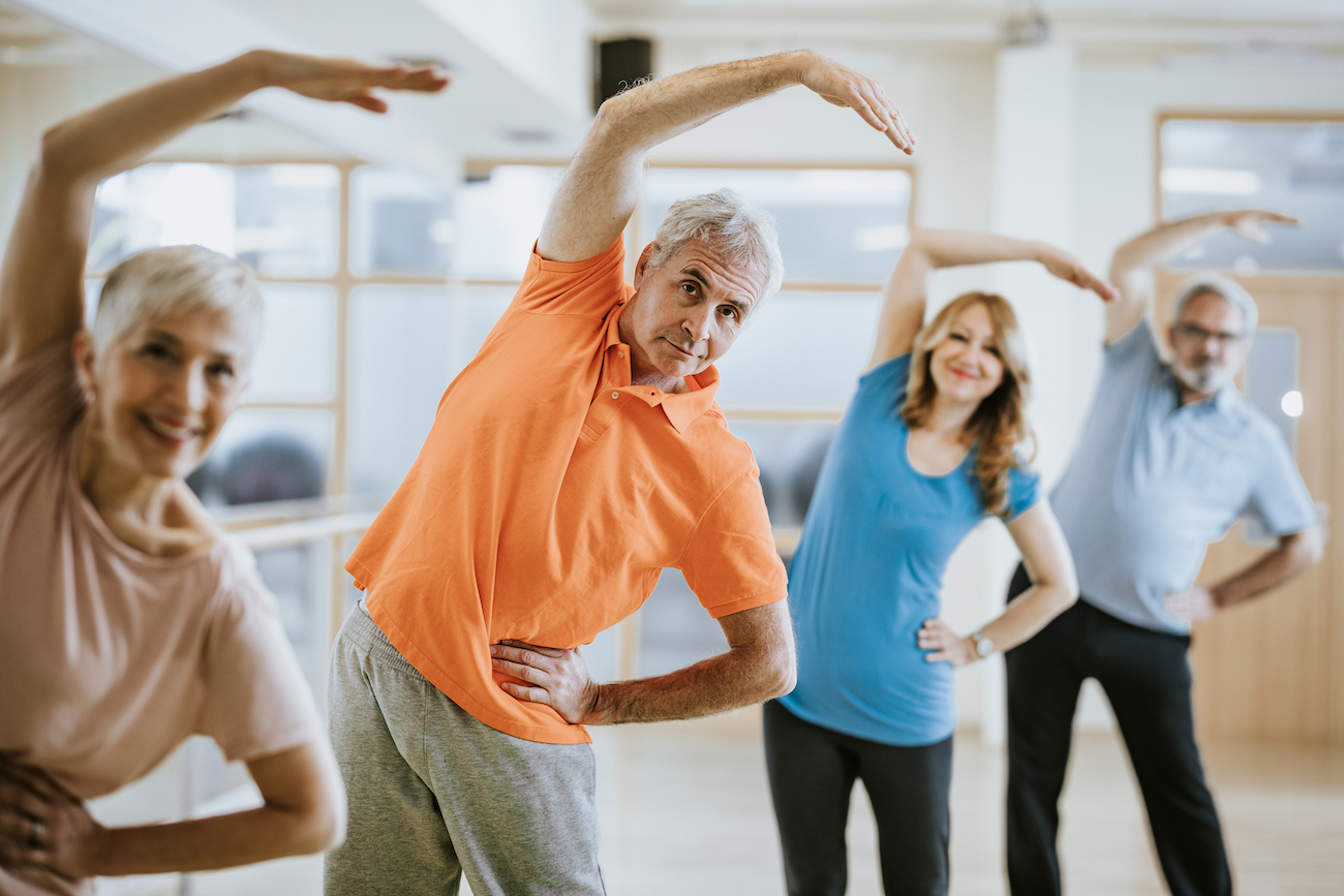 exercise plans for over 50s
