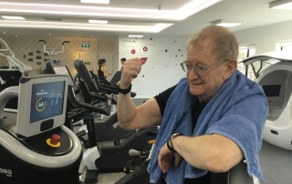 Physical activity in older adults - what are the long ter